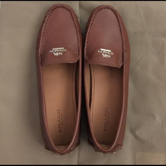 100% genuine top design wholesale COACH Nancy loafer