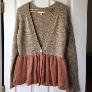 MM Couture Sweaters - MM Couture peplum sweater- Miss Me Couture