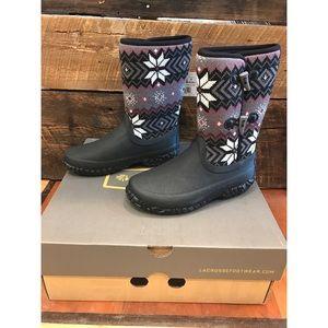 "LaCrosse Shoes - NEW--Women's Myrick 10"" Snowflake Lacrosse Boots"