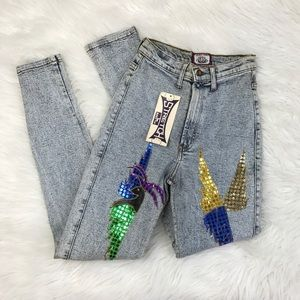 Vintage 1980s nwt dead stock mom jeans