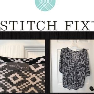 Market & Spruce Tops - Market & Spruce knit Stitch Fix top