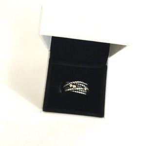 Pandora Jewelry - Retired pandora entangled beauty 14k diamond ring