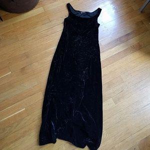 Sisley Velvet tank dress