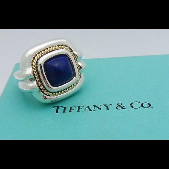 b099b5bf6 Vintage silver &Gold Lapis Ring D511. Tiffany & Co.  M_58cacb6e291a35454b035f47. M_58cacb6f981829619400cf03.  M_58cacb702ba50a0d3200cdb1