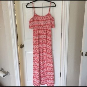 Takara Dresses & Skirts - Beautiful red and white maxi dress