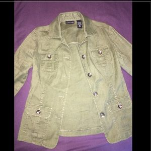 New York & Company Jackets & Blazers - Military Jakcet