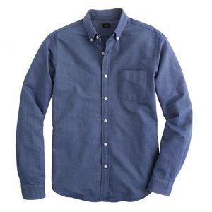 J. Crew Other - J CREW Slim vintage oxford shirt in tonal cotton