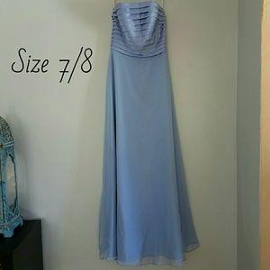 Mori Lee Dresses & Skirts - Lilac floor length dress Size 7/8