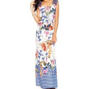Jessica Simpson floral maxi dress