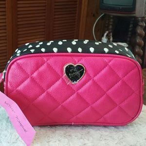 Betsy Johnson  Handbags - Betsy Johnson NWT Fushia Loaf Cosmetic Case