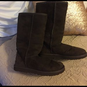 UGG Shoes - Authentic Tall Brown Ugg Boots