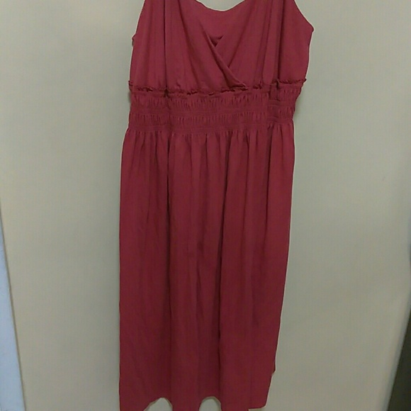 Old Navy Dresses Womens Plus Size Burnt Orange Sundress Poshmark