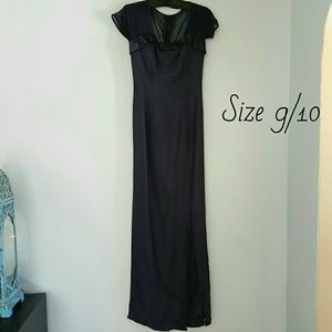 Alfred Angelo Dresses & Skirts - Alfred Angelo Navy Blue Sheath Dress, Size 9/10