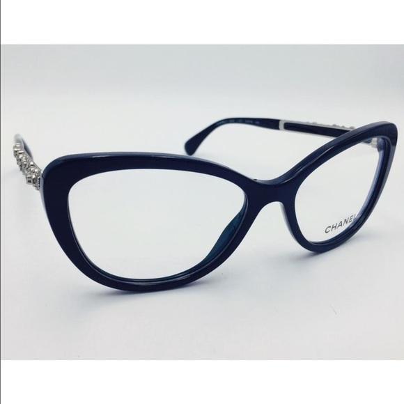 4abc253286 CHANEL Accessories - Chanel black blooming Bijou Cat Eye eye glasses