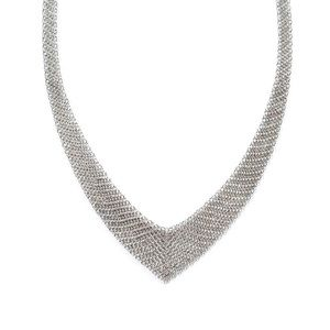🌹SOLD🌹Auth. Tiffany & Co. Mesh Bib Necklace