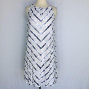 J. Crew Dresses & Skirts - J. Crew blue and white chevron mini dress