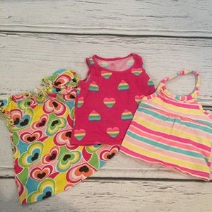 Children's Place Other - Set of colorful summer tops