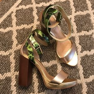 Schultz Shoes - Rare Schutz Sandalia Salto Alto heels