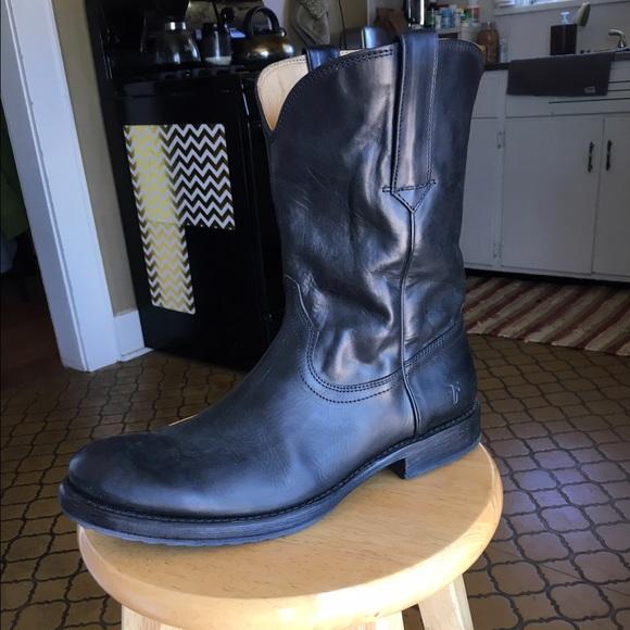 da9d27cca68 Men's Frye Boots- Duke Roper- Black NWT