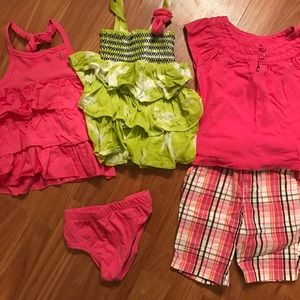 Other - Set of 5 summer play clothes