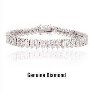 BLISS Jewelry - DOUBLE GLAMOUR TENNIS BRACELET