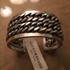 Lucky Brand Jewelry - Lucky brand chain-link half silver new with tags