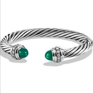 David Yurman Jewelry - DAVID YURMAN limited edition green onyx & diamond!