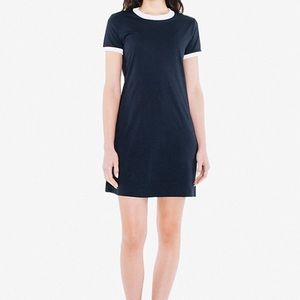 American Apparel Dresses & Skirts - Navy and white American Apparel dress