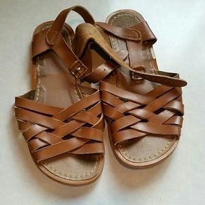 Salt Water Sandals by Hoy Other - Tan Salt Water Sandals