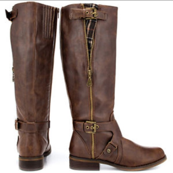 G By Guess Hertlez Wide Calf Riding