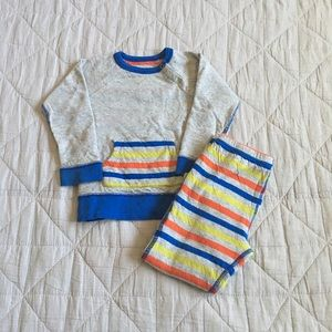 Stem Baby Other - Two piece reversible outfit size 12 months