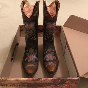 """Old Gringo Shoes - OLD GRINGO Embroidered Bonnie 13"""" Boot 9"""