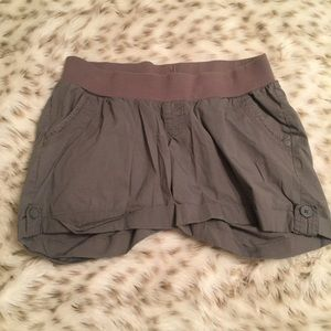 Motherhood Maternity Pants - Motherhood Maternity Gray Shorts