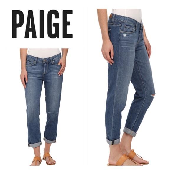fe7672a51b189 PAIGE Jeans | Jimmy Jimmy Boyfriend Crop In Cinda | Poshmark