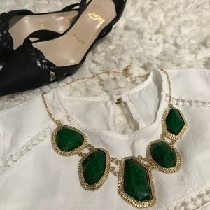 T&J Designs Jewelry - Emerald green statement necklace