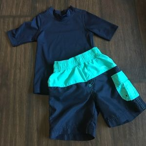 Children's Place Other - 2T Boys Children's Place Swim Outfit