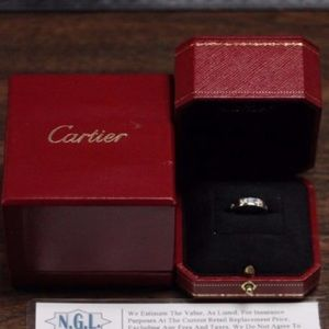 Cartier Jewelry - Cartier LOVE Wedding Band 18K White Gold