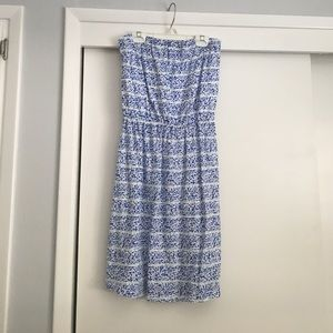 GAP Dresses & Skirts - Strapless floral dress