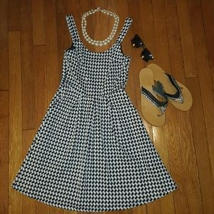 Blossom Dresses & Skirts - ~Last one~ Houndstooth Fit & Flare dress
