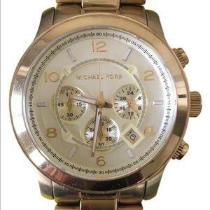 Michael Kors Accessories - Michael Kors Women's Runway Watch