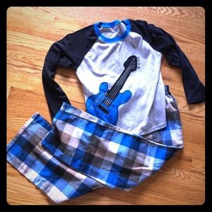 Carter's Other - Boys Guitar pajamas