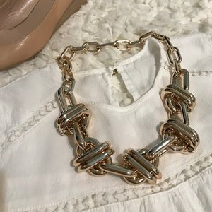 T&J Designs Jewelry - Rose gold chain statement necklace