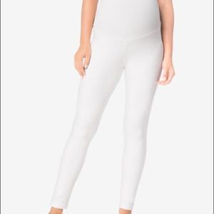 Motherhood Maternity Pants - Motherhood Maternity White Pull On Leggings