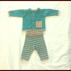 Tea Collection Other - 👶🏼 Baby Sweater Matching Outfit 0-3m