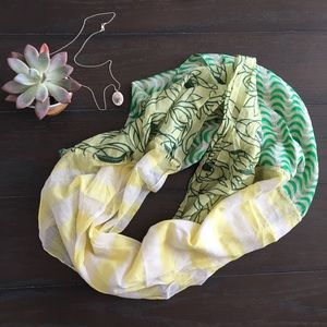 Anthropologie Accessories - 🆑 nwot anthropologie cotton & silk scarf