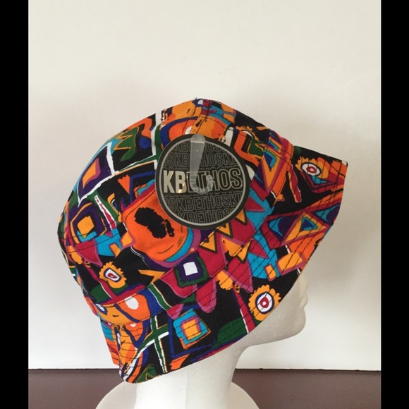 KBethos Accessories - Geometric Design Bucket Hat