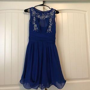 Little Mistress Dresses & Skirts - Royal blue dress