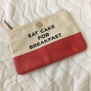 Eat Cake For Breakfast Pouch
