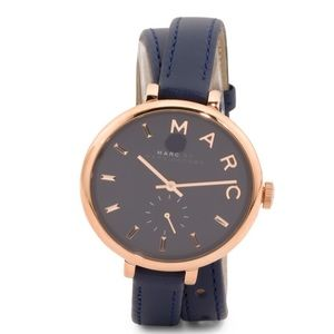 Marc by Marc Jacobs Accessories - ✨NWT✨ Marc Jacobs Navy Sally Double Wrap Watch