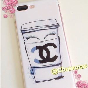 Accessories - 7 Plus Coffee Lover iPhone Silicone Case